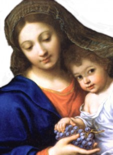 Assumption of Mary | Blessing of Grapes